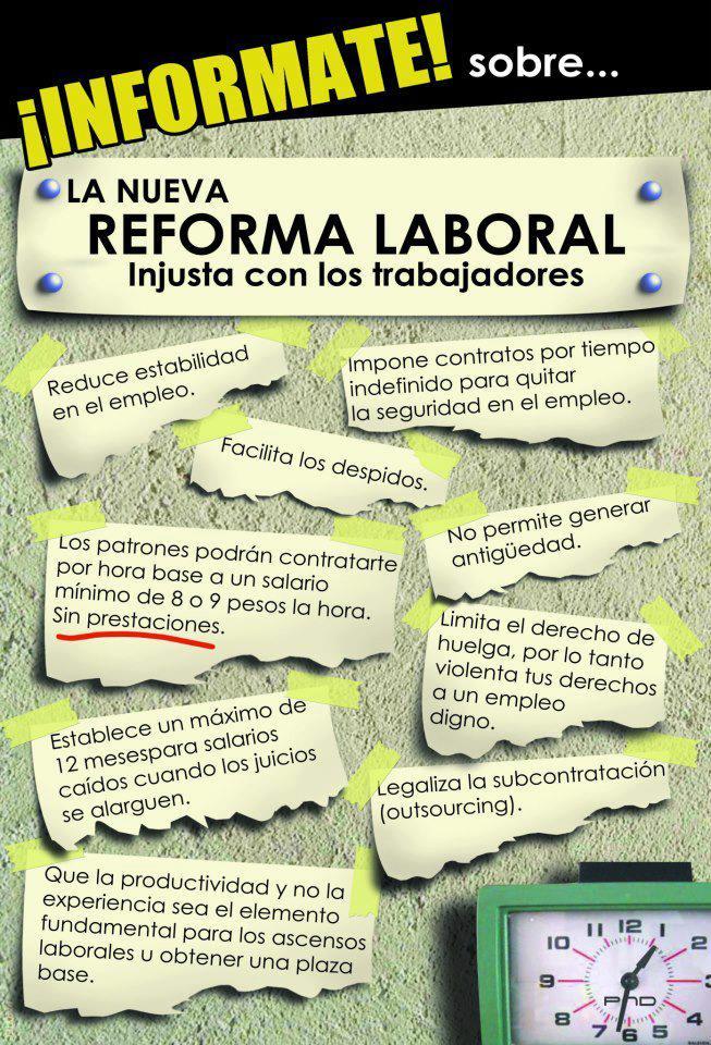 nueva reforma laboral concolectivaconciencia